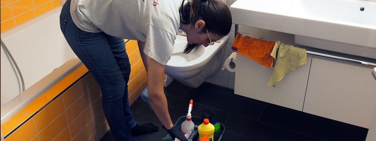Putzfrau für umzugsreinigung